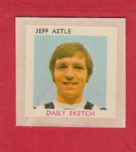 England Jeff Astle West Bromwich Albion (DS)